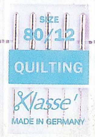 Klasse Quilting Machine Needle Size 12/80