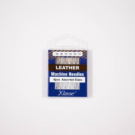 Klasse Leather Needle Asst 100/16 (x2), 110/18 (x4)