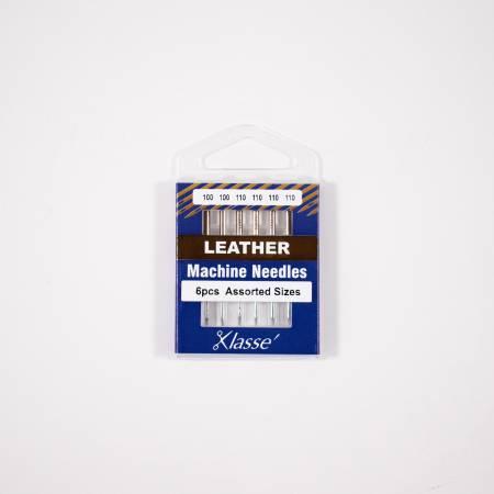 Klasse Leather Needle Asst 100/16 (x2) 110/18 (x4)