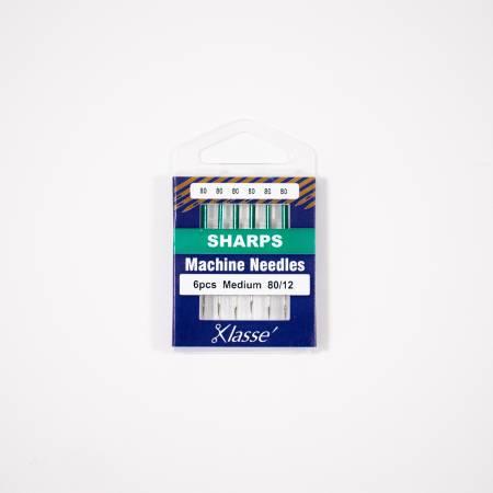 Klasse Sharp Machine Needles Size 80/12