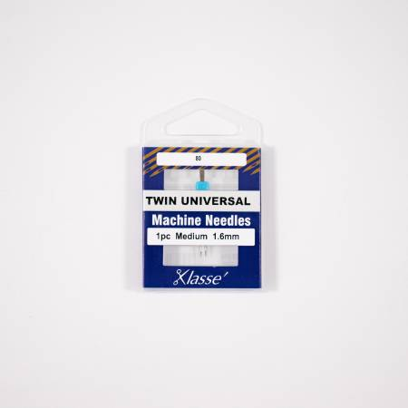 Klasse Twin Universal 1.6mm/80, 1 Needle