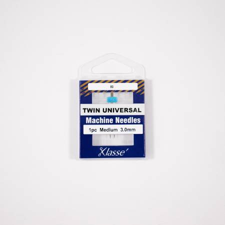 Klasse Twin Universal 3.0mm/80, 1 Needle