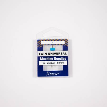 Klasse Twin Universal 4.0mm/80, 1 Needle