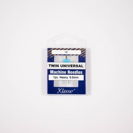 Klasse Twin Universal 6.0mm/100- 1 Needle