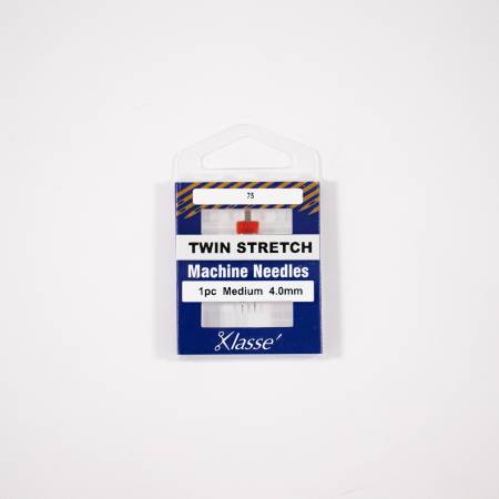 Klasse Twin Stretch 4.0mm/75, 1 Needle
