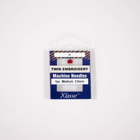 Klasse Twin Embroidery 3.0mm/75, 1 Needle