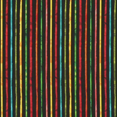 Black Stripe Digitally Printed
