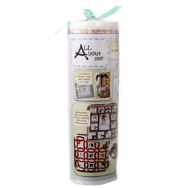 All About Me Pre-Printed Interfacing