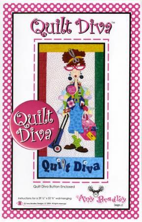 Quilt Diva (includes Quilt Diva button)