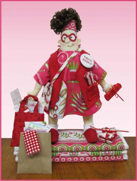 Fabric addict Doll Pattern