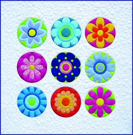 Radiant Blooms Quilt