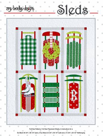 Sleds Quilt Pattern Set by Amy Bradley