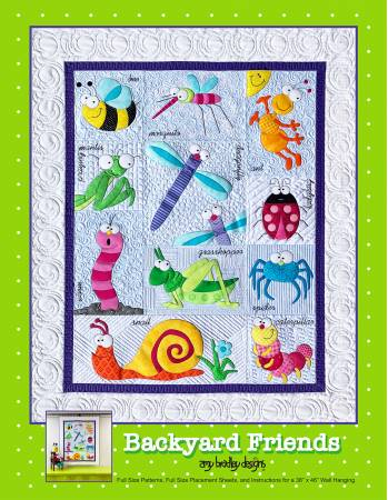 Backyard Friends Quilt Pattern