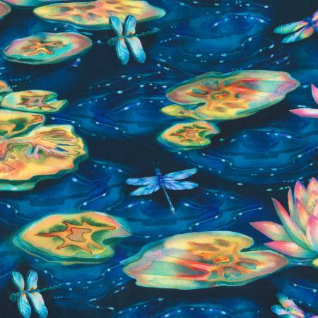 Wild Frog - Wild Lily Pads