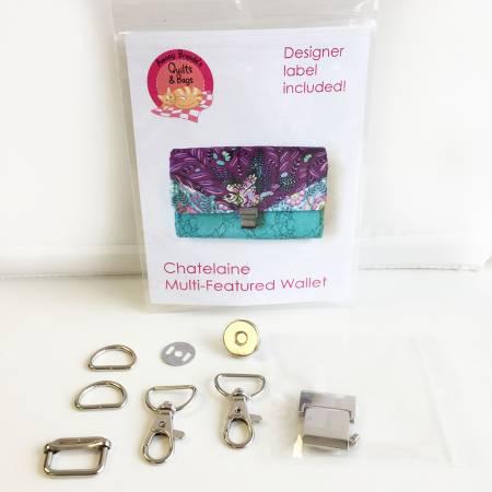 Bag Hardware Kit Chatelaine Multi-Function Wallet Brenda Miller