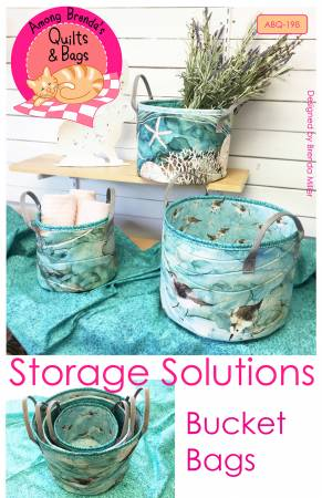 STORAGE SOLUTIONS BUCKET BAGS