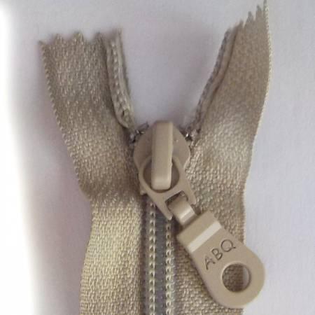 N- ABQ 22  Bag Zipper Silver Gray