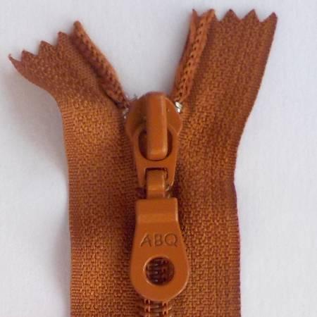 N- ABQ 22  Bag Zipper Leather Brown