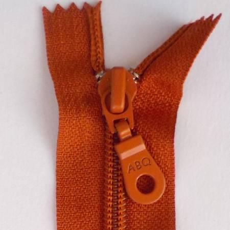 N- ABQ 22  Bag Zipper Rust