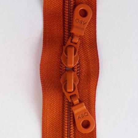 30in Zipper Rust Double Pull