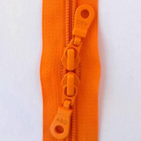 N- 30 Double Slide Zipper Persimmon