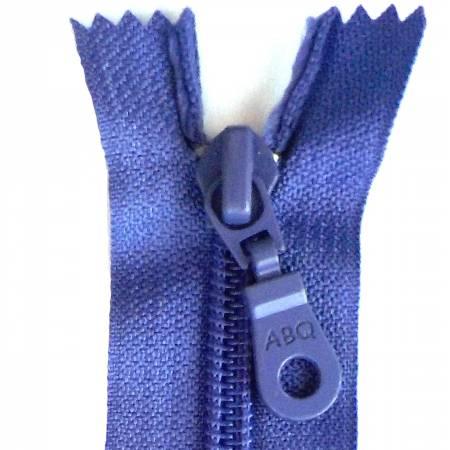14in Zipper Dusted Peri Closed Bottom