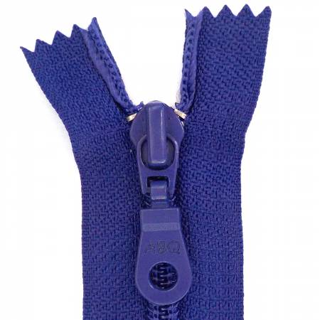N- ABQ 22  Bag Zipper Royal Blue