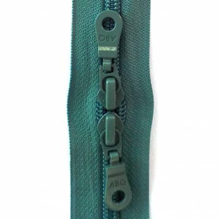 30in Zipper Blue Spruce Double Pull