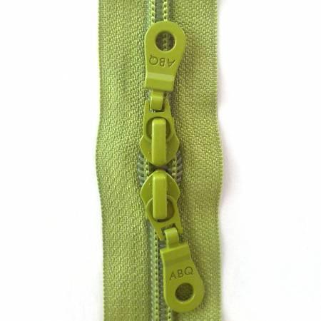 N- 30 Double Slide Zipper Herbal Garden