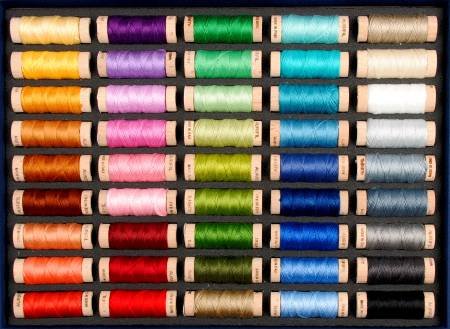 Aurifil Best Selection Cotton Floss 45 Small Spools
