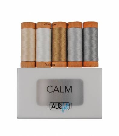 Calm Thread Collection 80wt 5 Small Spools