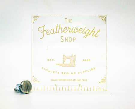 Featherweight Accurate Seam Guide - Clear