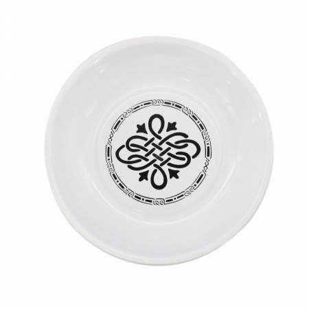 Magnetic Pin Dish White & Black