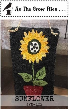 Sunflower Punch Needle