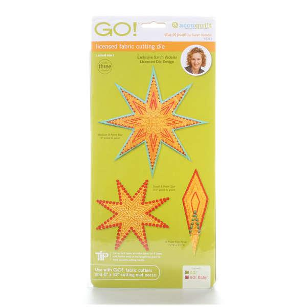 GO! 8 Point Star  by Sarah Vedeler
