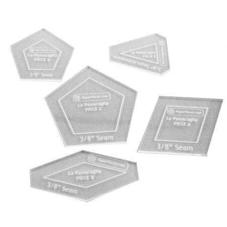 Acrylic Fabric Cutting Template for La Passacaglia