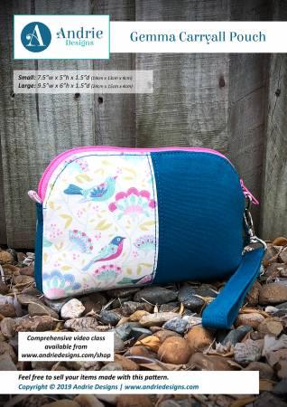 Gemma Carryall Pouch Pattern