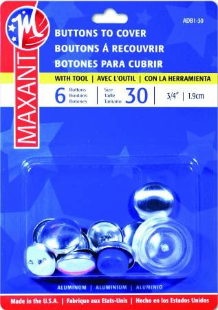 Maxant Cover Button Kit sz 30