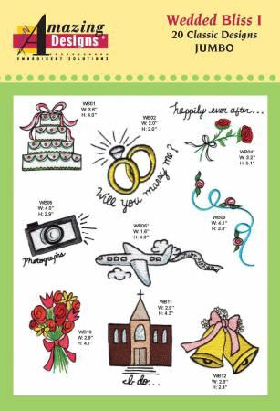 Wedded Bliss Embroidery CD
