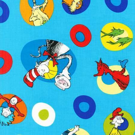 Celebration Dr. Seuss ADE-10787-203 Characters in Circles