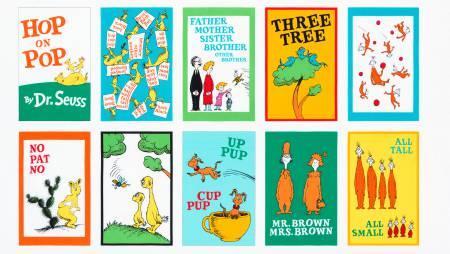 Bright - Hop on Pop - Dr. Seuss Book Panel