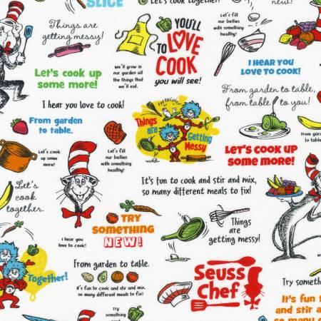 Dr. Seuss - Seuss Chef - Recipes - White