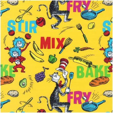 Dr. Seuss - Seuss Chef - Words - Yellow