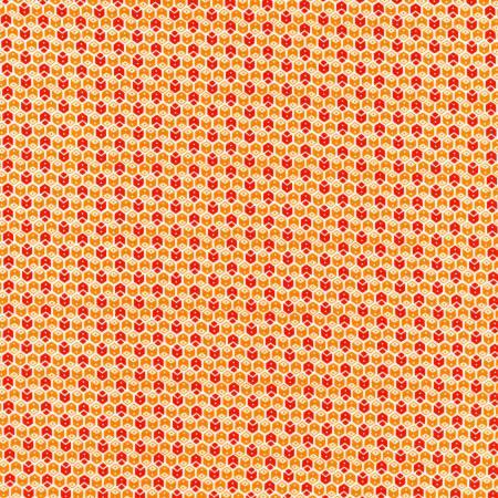 My ABC Book - Red/Orange Geometric