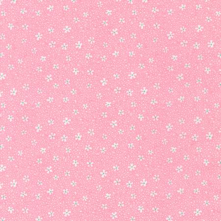 Baby Pink Flower 1930's Reproduction Print