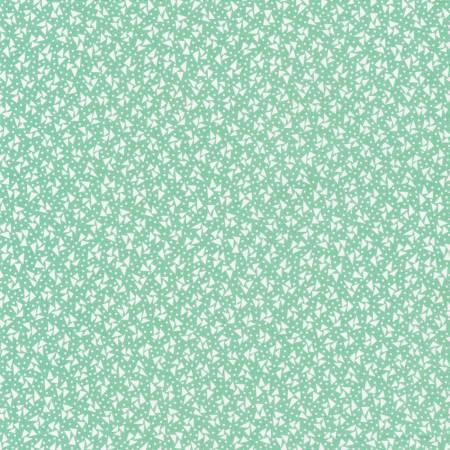 1930's Reproduction Fabric - Aloe from Robert Kaufman Fabrics