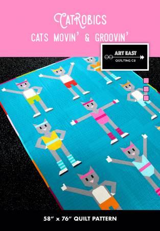 Catrobics Cats Movin & Groovin' Pattern AEQCCR0120