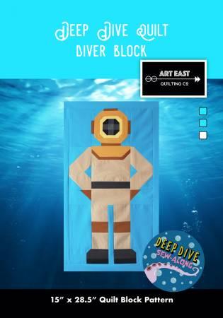 Deep Dive Quilt - Block 2 - The Diver