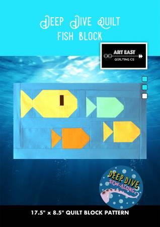 Deep Dive Quilt - Fish Block