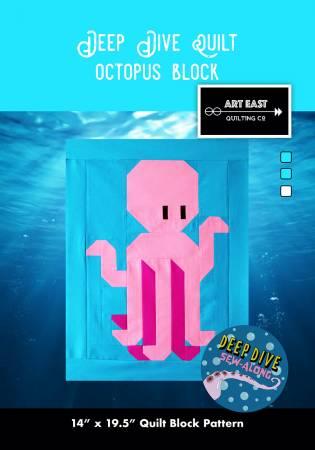 Deep Dive Quilt - Block 1 - The Octopus
